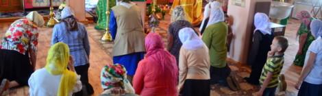 Прихожане Свято-Пантелеимоновского храма г. Учалы 1 июня провели акцию против абортов.